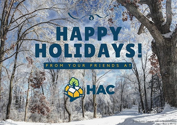 Happy Holidays from your friends at HAC
