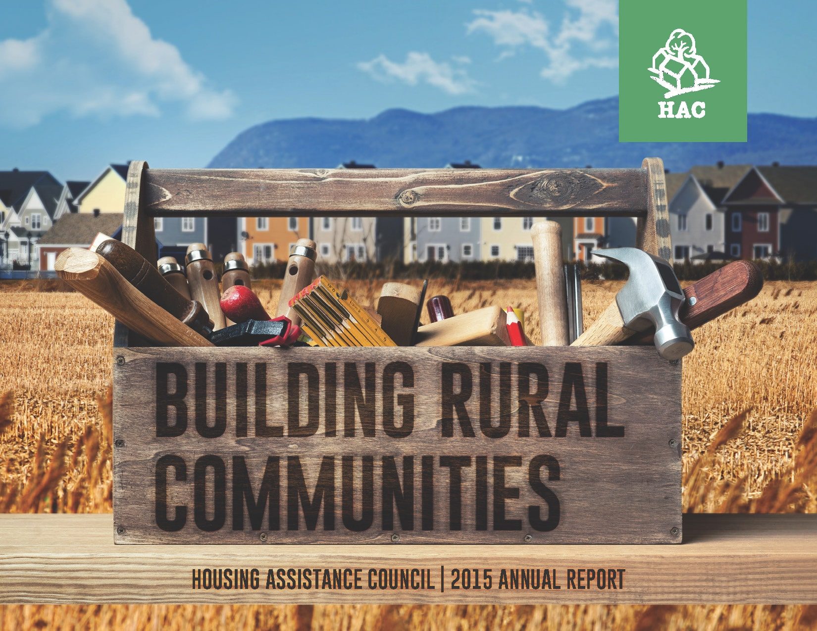 HAC's 2015 Annual Report Cover