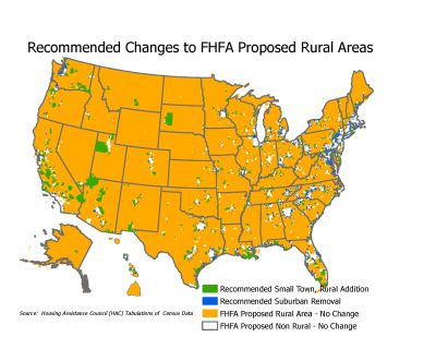 DutyToServeMap FHFA HAC Recommended Changes