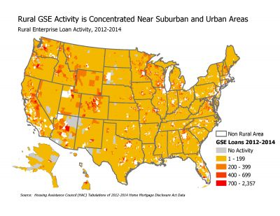 GSE Activity 2012 2014  Map