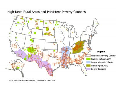 High Need Persistent Poverty Map
