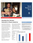 Housing Our Heroes Rural Research Brief cover