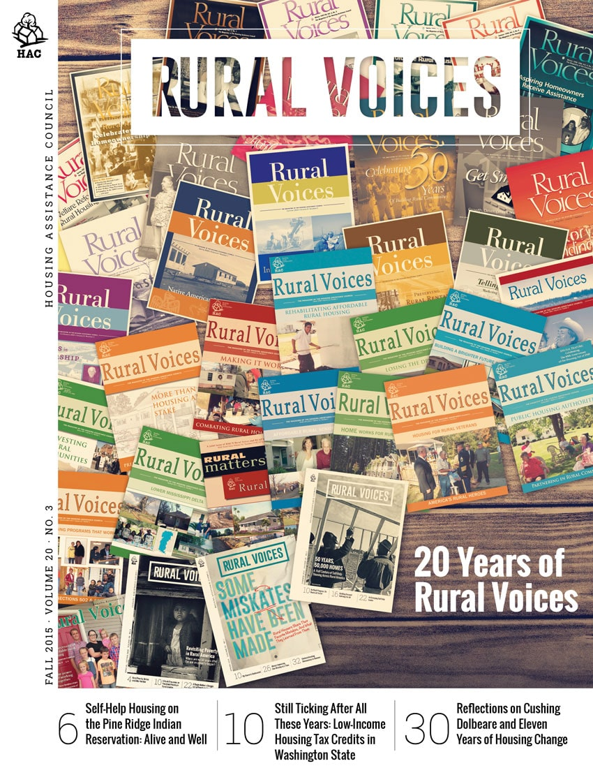 Fall 2015 Issue of Rural Voices