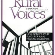 Cover of Rural Voices Volume 2, Issue 1