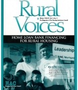Winter 1996/7 issue of Rural Voices Magazine - Cover