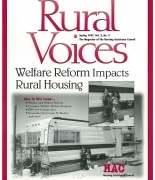 Rural Voices Spring 1997 Issue - Cover