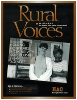 The Fall 1997 Issue of Rural Voices - Cover