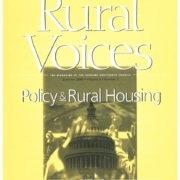 Rural Voices: Policy & Rural Housing