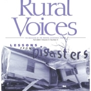Rural Voices: Lessons from Disaster
