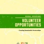 Rural Housing Volunteer Opportunities Guide Cover