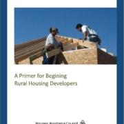 A Primer for Beginning Rural Housing Developers - Cover