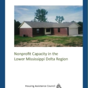 Nonprofit Capacity in the Lower Mississippi Delta Region_Cover