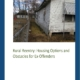 Rural Reentry: Housing Options and Obstacles for Ex-Offenders - Cover
