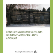 Conducting Homeless Counts on Native American Lands - Cover