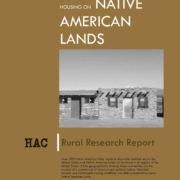 Housing on Native American Lands Cover