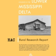 Housing in the Lower Mississippi Delta Cover