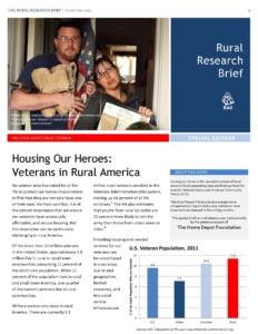 Housing Our Heroes Research Brief Cover