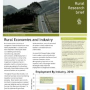 Rural Economies and Industry Research Brief