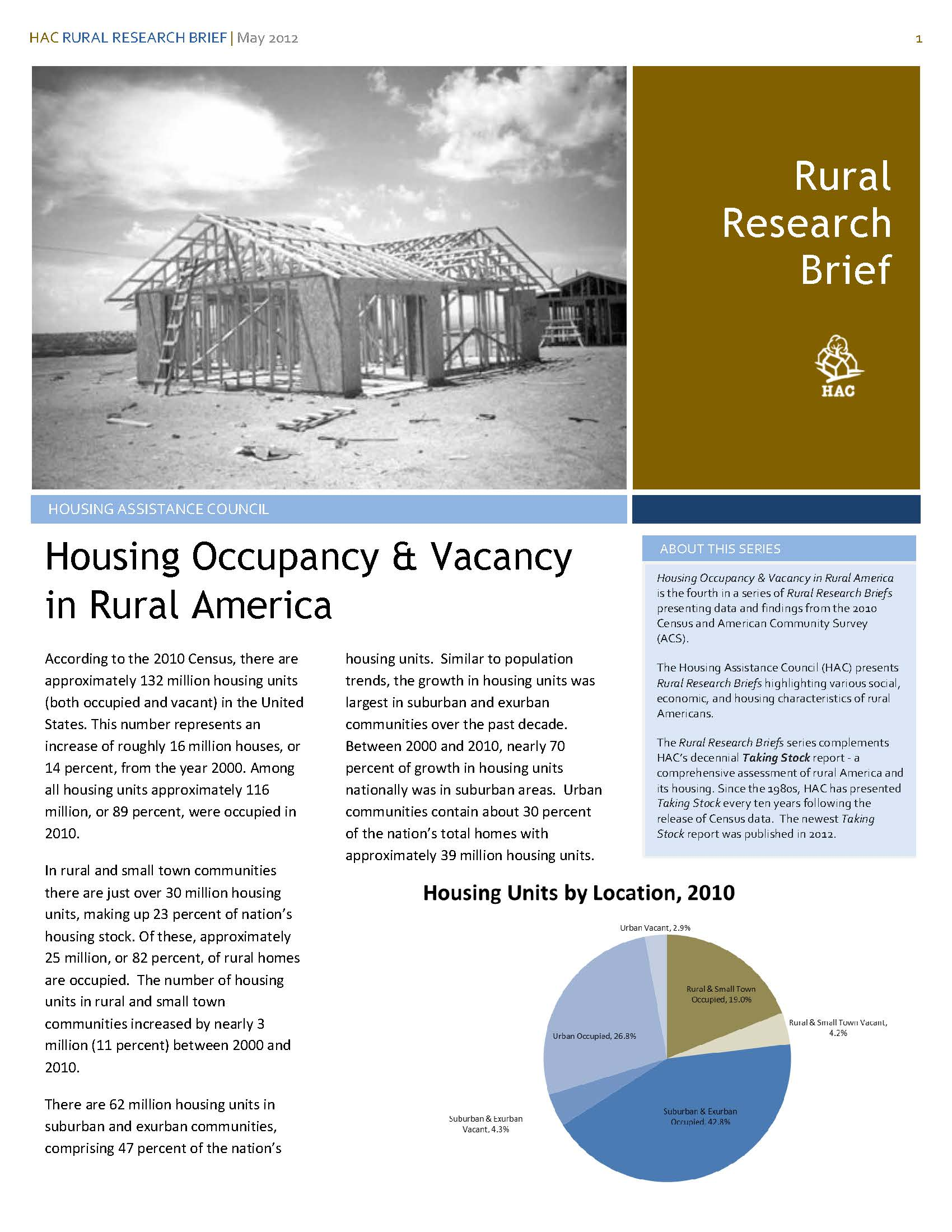 Housing Occupancy Research Brief Cover