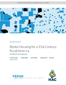 Rental Housing for a 21stCentury Rural America