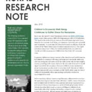 Kids Count Research Note
