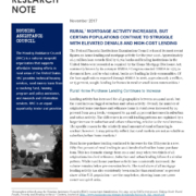 Rural Mortgages Research Note