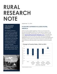 Economic Expansion Eludes Rural America