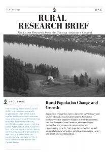 Rural Population Change and Growth Cover Image