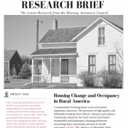 Housing Change and Occupancy in Rural America
