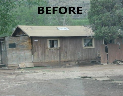 This veteran's home was in such disrepair the team from WMAHA decided to tear it down and start from scratch.