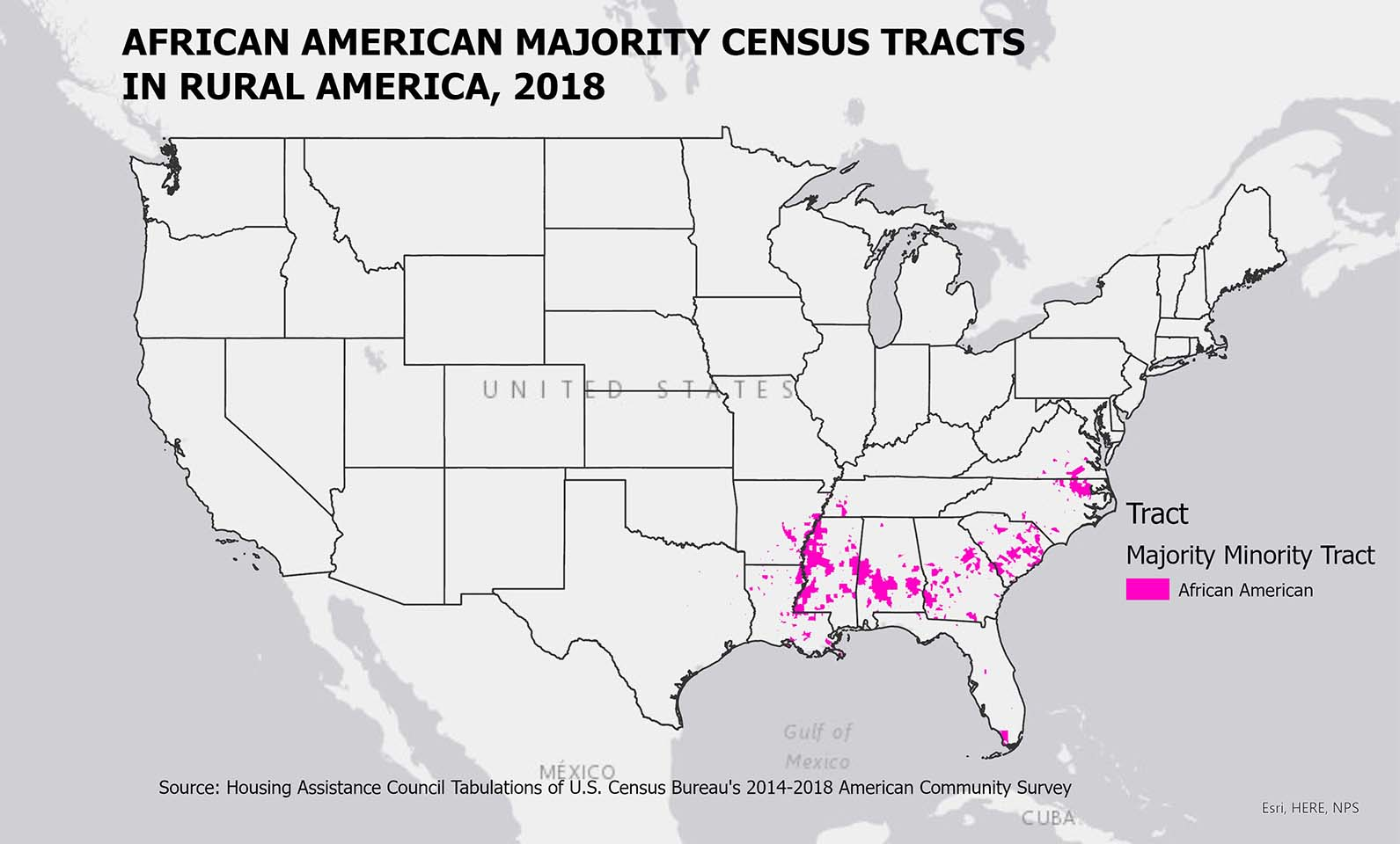 Majority African American Rural Tracts