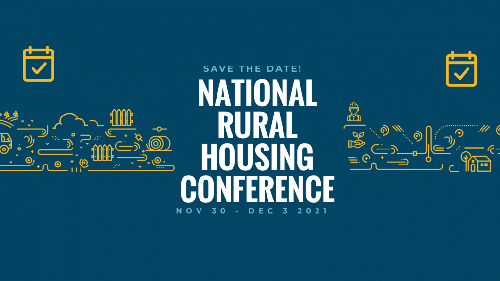 Save the Date for the 2021 National Rural Housing Conference