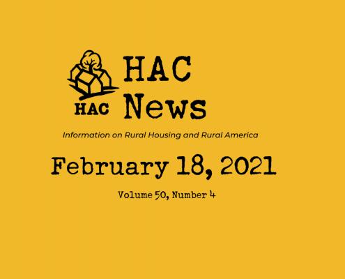 HAC News - 2/18/2021