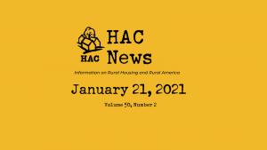 HAC News - 1/21/2021