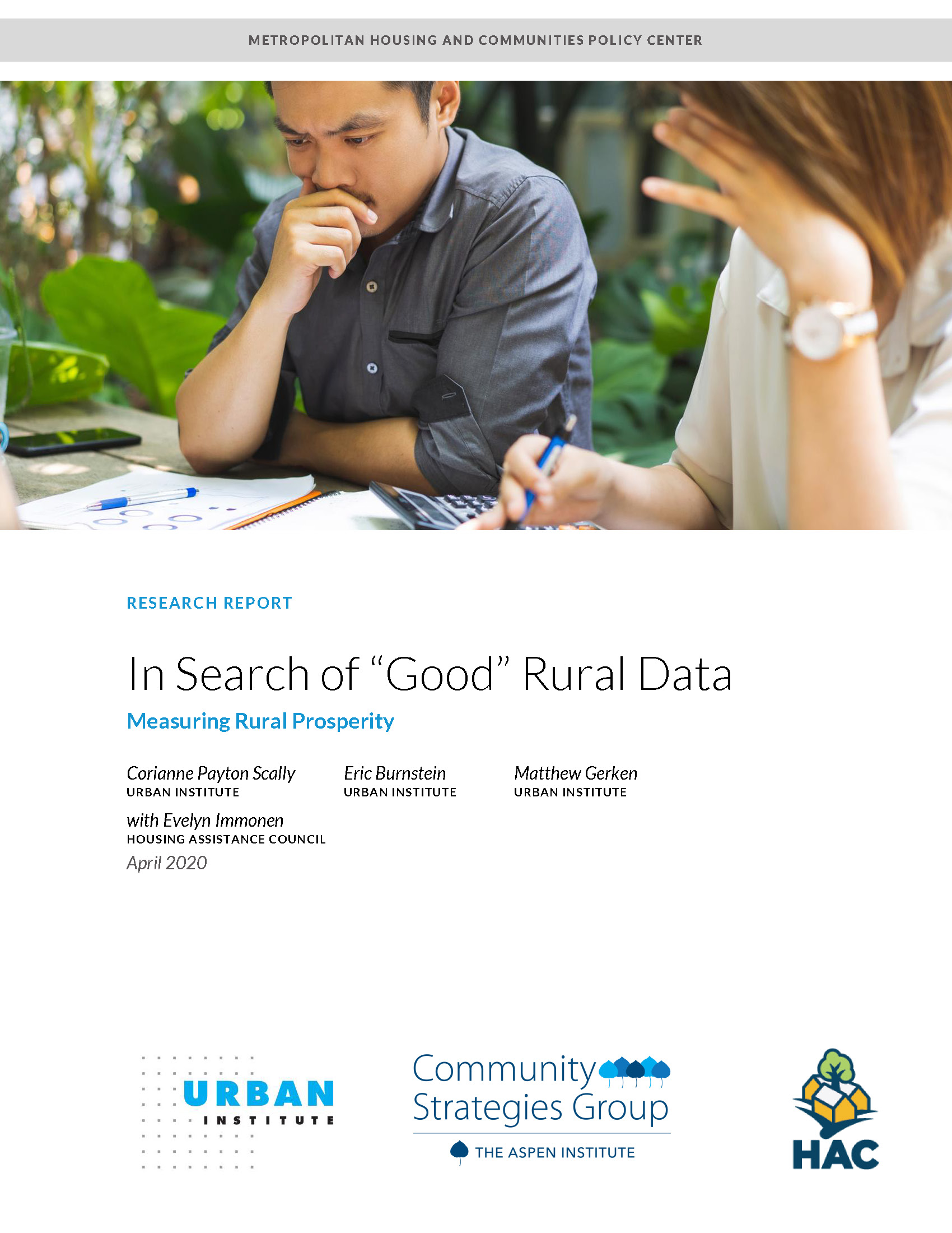 """In Search of """"Good"""" Rural Data Cover Image"""
