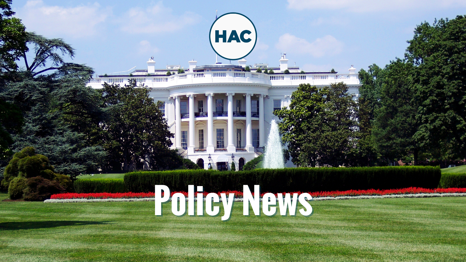 Policy News from the Administration