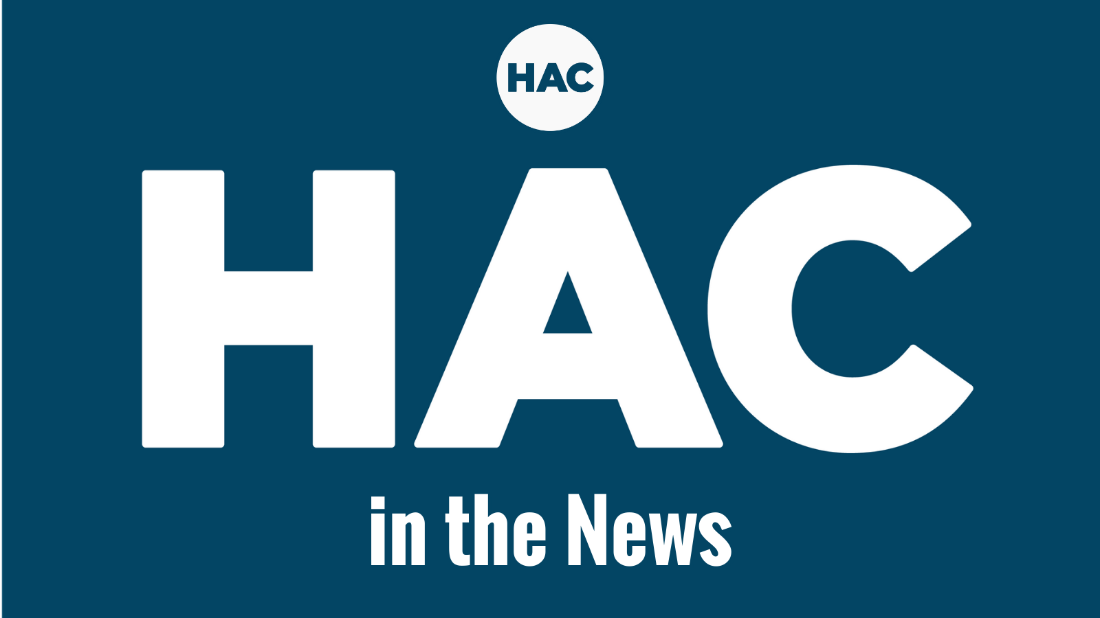 HAC in the News