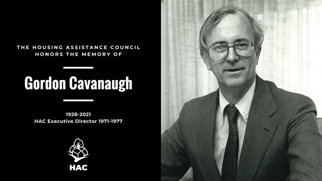 In memory of Gordone Cavanaugh